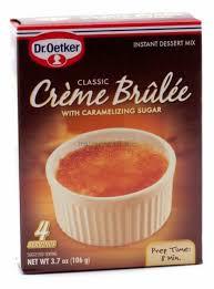 dr oetker creme brulee mix 106g