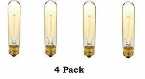 40 watt t10 e26 medium base vintage l light bulbs 4