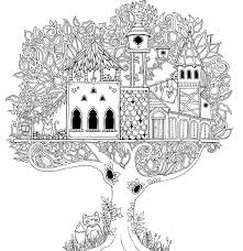 Johanna Basford Enchanted Forest Coloring For Adults
