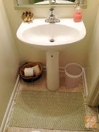 half bathroom decor ideas half bath decorating accent wall and