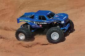 Traxxas Bigfoot Firestone 1:10 Scale 2WD Monster Truck Kit - Blue ...
