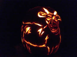 Unicorn Pumpkin Stencil by Goat Pumpkin Lives Peas And Cougars