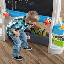 Step2 Art Easel Desk Instructions by Amazon Com Step2 Jumbo Art Easel For Kids Toys U0026 Games
