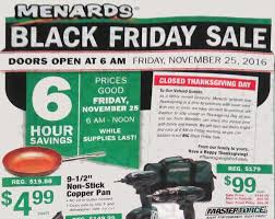 Lighted Christmas Trees At Menards by Menards Black Friday Ad 2016 Southern Savers