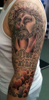 Religious Tattoo Sleeves For Man