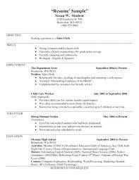 Sample Of Waiter Resume Best Ideas Examples Perfect Waitress Resumes Server