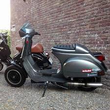 Vespa Px Scootering Scooterist Streetracer Bitubo Scooterandservice Piaggio