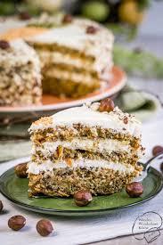 rübli haselnuss torte kleine festliche ostertorte aus einem