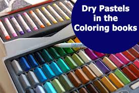 Using Dry Pastels In Adult Coloring Books For Beginners