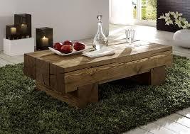 massivholz couchtisch beistelltisch sofatisch vollholz rustikal antik gewachst