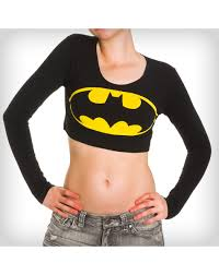 Batman Lava Lamp Spencers by Party Points To Me I Just Found The Batman Junior Fitted Crop Top