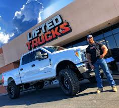 New Customer With His Custom Super Duty From Lifted Trucks ...