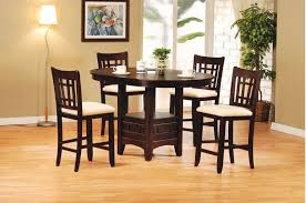 Acme 07675 Lugano Counter Hight Dining Room Set Houston Texas USA Aztec Furniture
