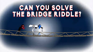 Halloween Riddles For Adults With Answers by Can You Solve The Bridge Riddle Alex Gendler Youtube