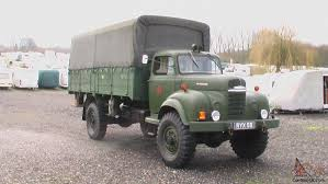 1956 COMMER Q4, AUXILIARY FIRE SERVICE, 4x4 CARGO TRUCK. NOT MILITARY.