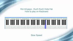 kuch kuch hota hai piano notes