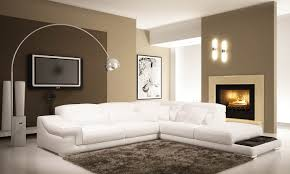 deco in canape d angle en cuir blanc grissom grissom blanc 3 m