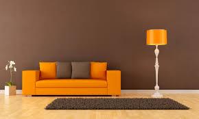 oranges sofa welche wandfarbe passt die besten idee