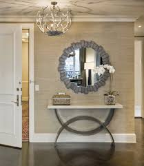 Front Entrance Table Console Entryway Entry Modern With Dining Room Door