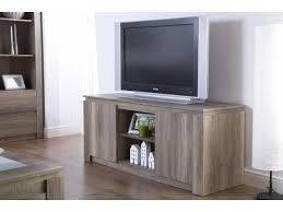 Canyon Oak Living Room Rustic 3D TV Unit Stand