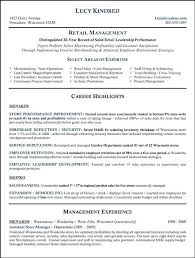 Thrift Store Manager Resume Retail Cashier Objective Templates Liquor Clerk Sample For Housekeeping Assistant