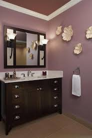 Full Size Of Furnitureinteresting Use Wall Art In The Purple Contemporary Bathroom Nice Large