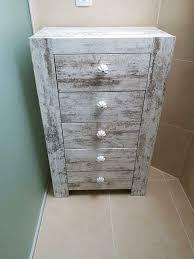 kommode badezimmer schrank holzkommode shabby landhaus