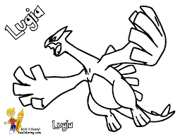 Coloring Pages Book For Kids Boys Images 249 Pokemon Lugia At