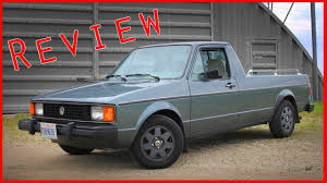 100 Rabbit Truck 1982 Volkswagen Pickup Review YouTube