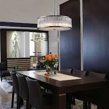 Chandelier Lights For Dining Room Minimalist Lighting Silinder Stainless Steel