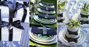 A Blue Wedding Decoration