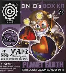 ein o space science planet earth ein o u0027s box kit by cog model