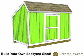 Saltbox Shed Plans 12x16 by 10x12 Salt Box Shed Plans Saltbox Storage Shed Icreatables Com