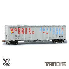 100 Wonder Bread Truck HO Scale GATC 4566cf Airslide Covered Hopper GATC
