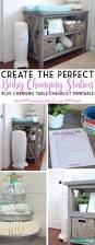 Baby Changer Dresser Combo by Best 25 Nursery Changing Tables Ideas On Pinterest Changing