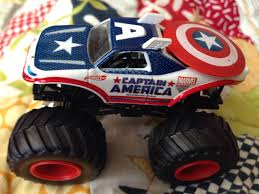 Captain America 1:64 Toy Car, Die Cast, And Hot Wheels - Monster Jam ... Cheap Truckss Monster Jam New Trucks 2014 Truck Houston Bestwtrucksnet Tampa Trippin With Tara Prowler Live Jam Pinterest Dodge Ram Elegant Very Clean 2500 Lone Star In Reliant Stadium Tx Full Show Energy East Rutherford June 14 Truck Kills Three At Dutch Show Officials Thank You Msages To Veteran Tickets Foundation Donors Spectators Look On As Bigfoot Leaps Over Cars Stacked 124 Scale Die Cast Metal Body Ccv08