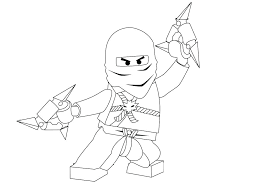 Lego Ninja Coloring Pages For Kids Printable