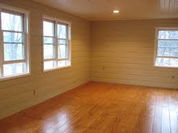 The Flooring In This Room Believe It Or Not Is Made Of Plywood Sheets Was Cut Into Strips To Look Like Planks Floor Looks Fabulous And