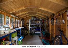 Shed Bench by Garden Shed Workbench Stock Photo Royalty Free Image 17828575