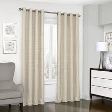 Eclipse Blackout Curtains 95 Inch by Eclipse Trevi Blackout Grommet Window Curtain Panel 95 Inch Spa Ebay