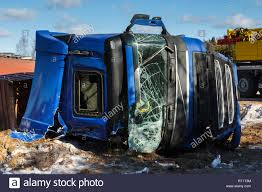 100 Truck Driver Accident Car Accident On A Road In February 22 2019 Truck Driver Lost