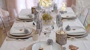 deco noel de table table noel idées déco pliage de serviettes design culinaire
