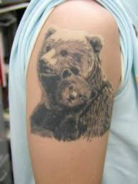 39 Best Bear Cub Tattoo Images Cubs Rh Com Mama And Silhouette Tattoos Of
