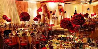 Red And Gold Wedding Decoration Ideas White Thank You Wording