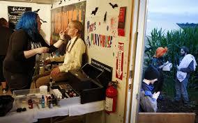 Swans Pumpkin Farm Hours by Pumpkins Corn Even Zombies Grow Into Agritourism Revenue