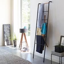 yamazaki handtuchhalter badezimmer design modern metall holz