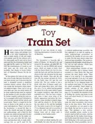 wooden train plans children u0027s wooden toy plans and projects