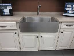 Stainless Overmount Farmhouse Sink by Kitchen Mesmerizing Farmhouse Stainless Kitchen Sinks Undermount