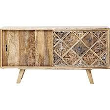 kare design sideboard coachella natur im retro stil für das