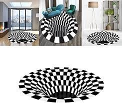 de n d 3d teppich rund carpet illusion whirlpool